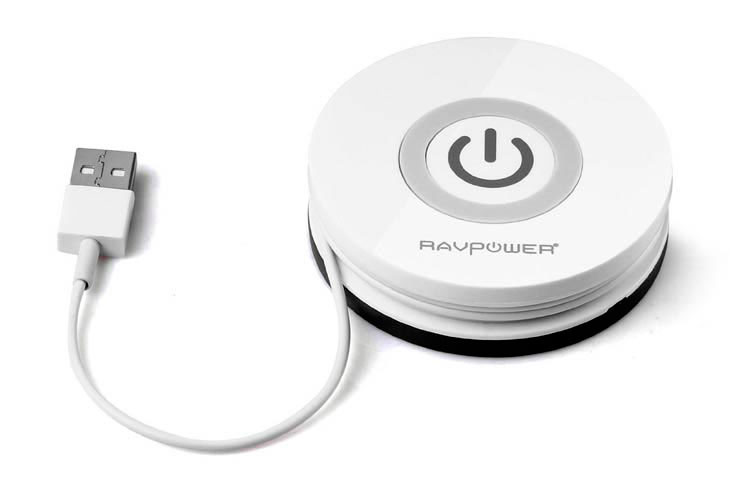 Беспроводное зарядное устройство RAVPoer Qi