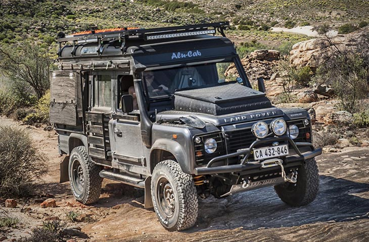 Land Rover Defender Icarus от Alu-Cab