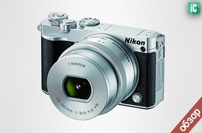 Обзор фотоаппарата Nikon 1 J5
