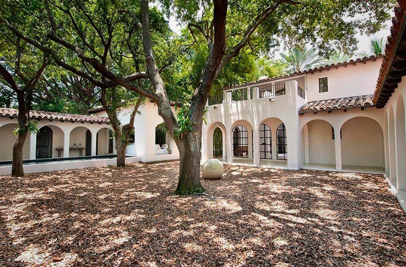 Дом Кельвина Кляйна в Майами-Бич