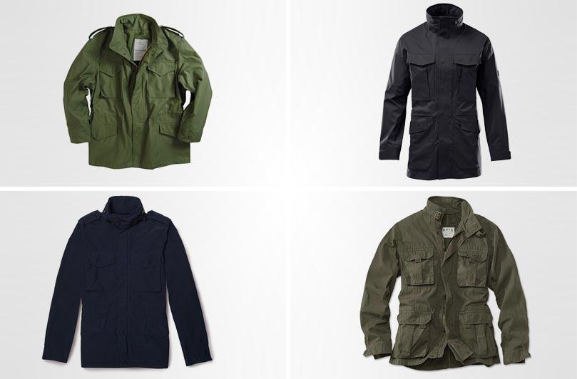 лучшие полевые куртки M-65