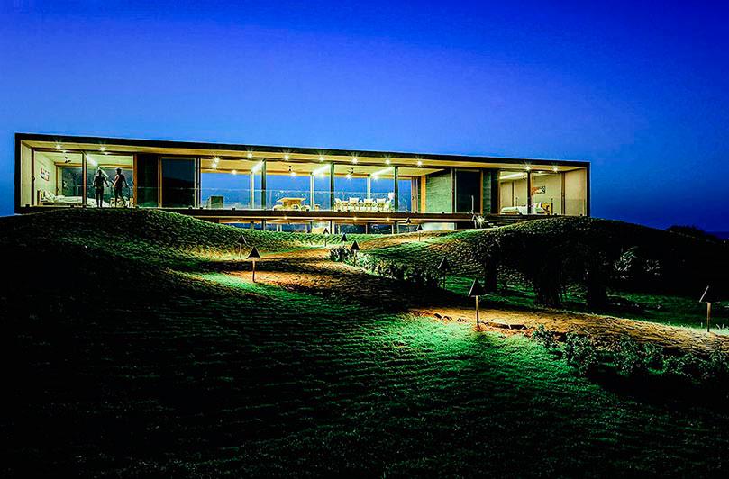 Панорамный дом