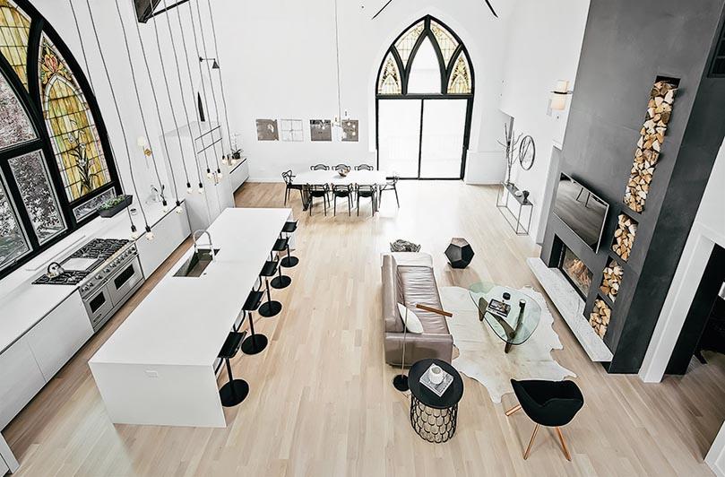 Преобразованная церковь в Чикаго
