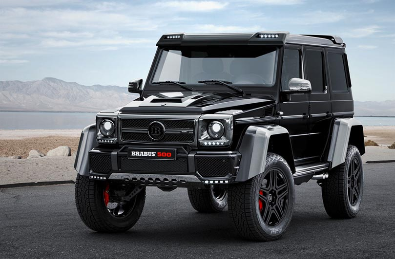 Brabus Mercedes-Benz G 500 4x4 Squared
