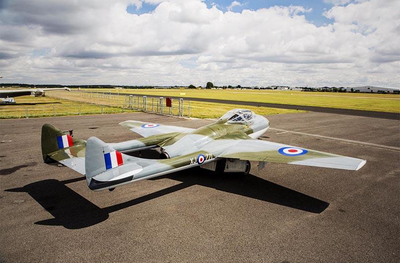 De Havilland Vampire T55 Jet 1958
