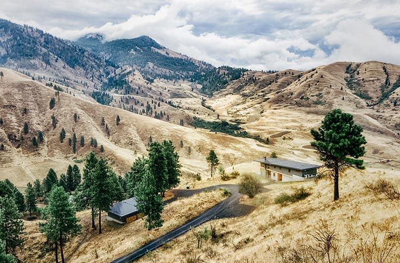 Nahahum Canyon Cabin