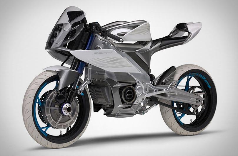 Концепты электрических мотоциклов Yamaha