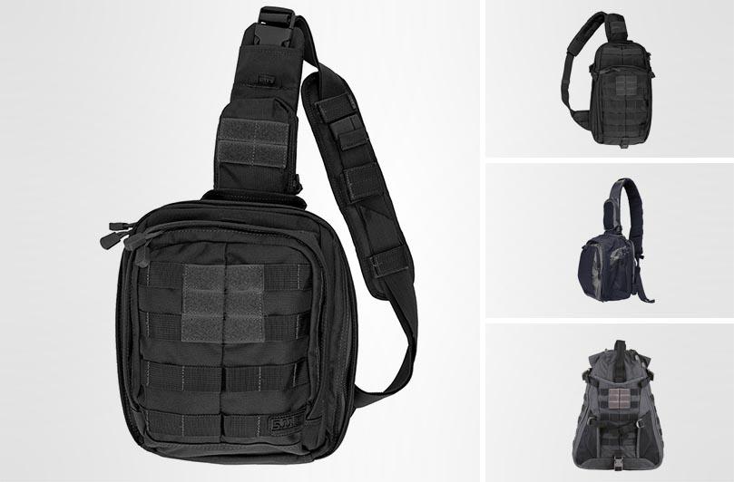 лучшие однолямочные рюкзаки 5.11 Tactical