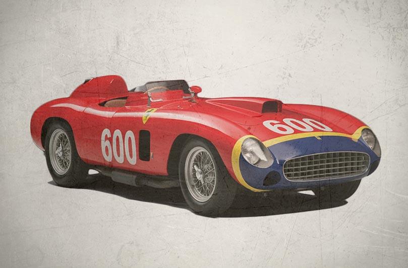 Ferrari 290 MM 1956 года