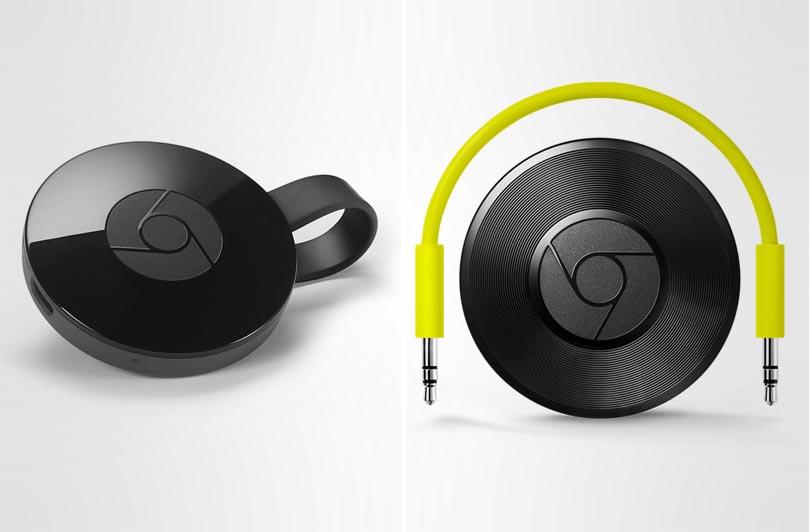 Google Chromecast 2 Chromecast Audio.