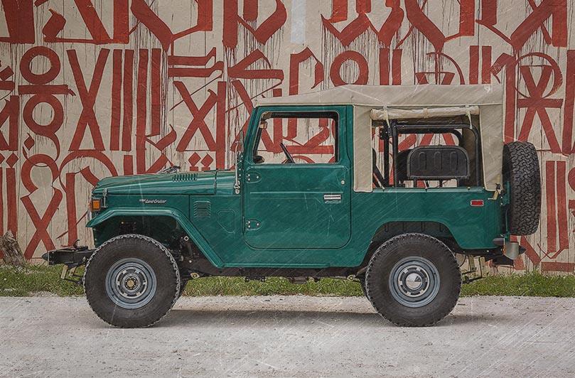 Toyota Land Cruiser FJ40 1978