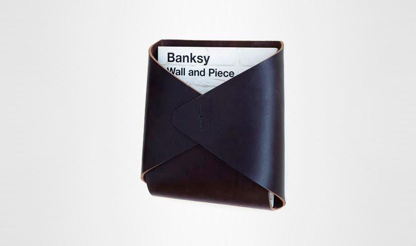Кожаный карман Tasche Wall