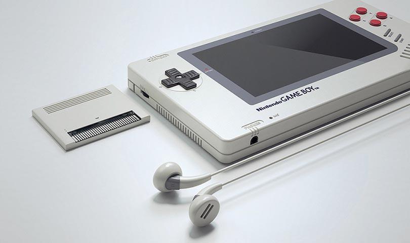 Концепт Game Boy 1up
