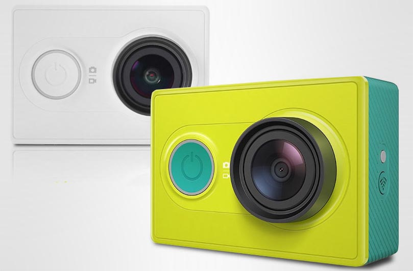 Стильная и дешевая экшен камера от Xiaomi