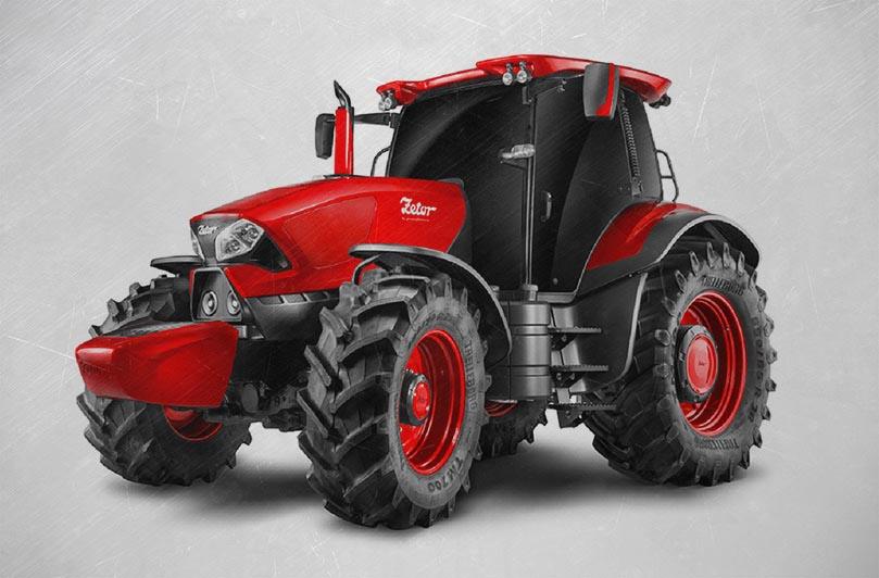 Трактор Zetor от Pininfarina