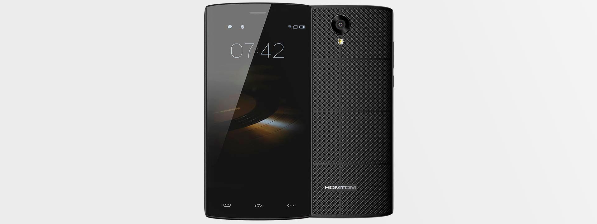 Бюджетный четырехядерный смартфон HOMTOM Doogee HT7