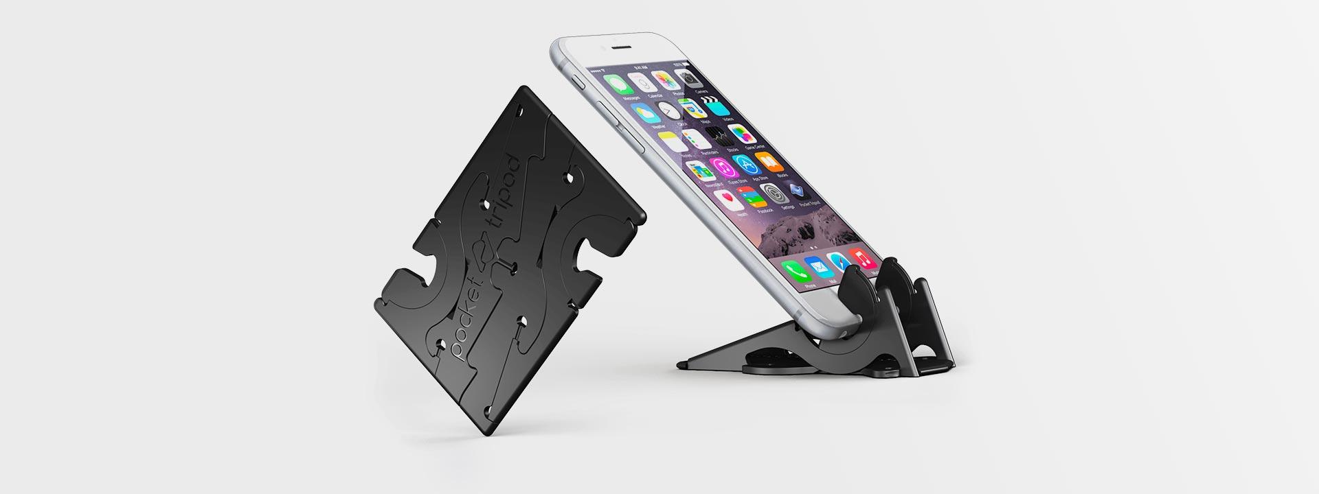 Карманная подставка Pocket Tripod для iPhone