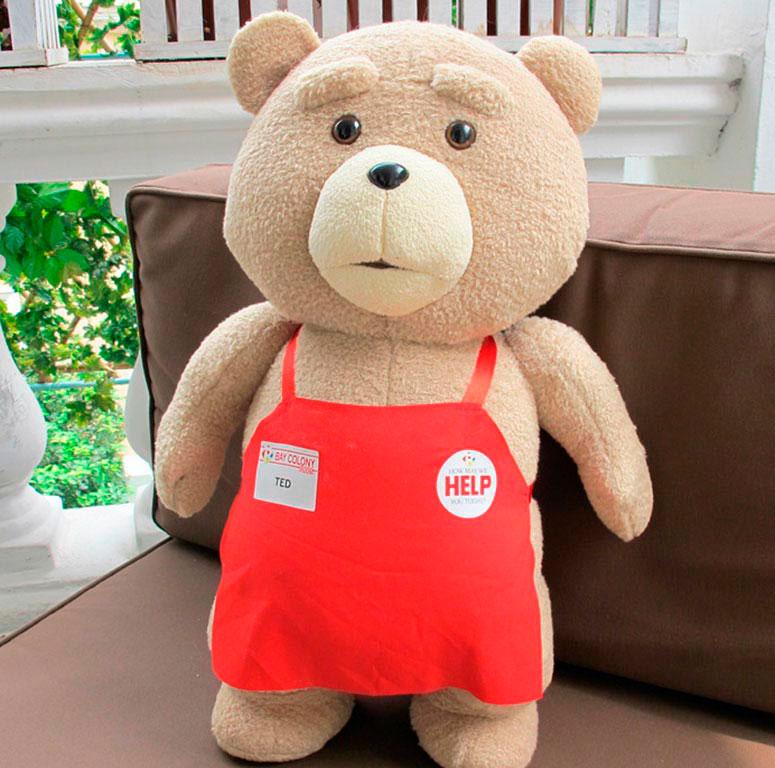 Плюшевый медвежонок Тед