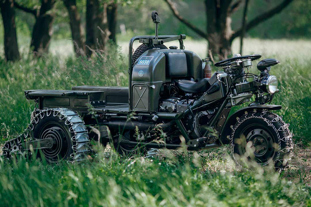 Трехколесный мотоцикл Moto Guzzi