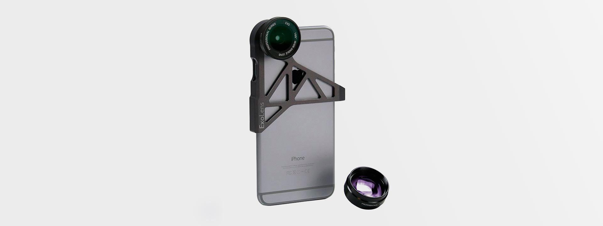 Широкоугольный объектив ExoLens для iPhone