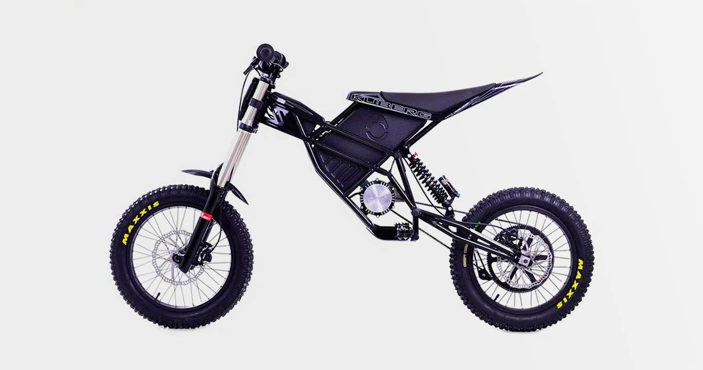 Электрический велосипед Kuberg Freerider