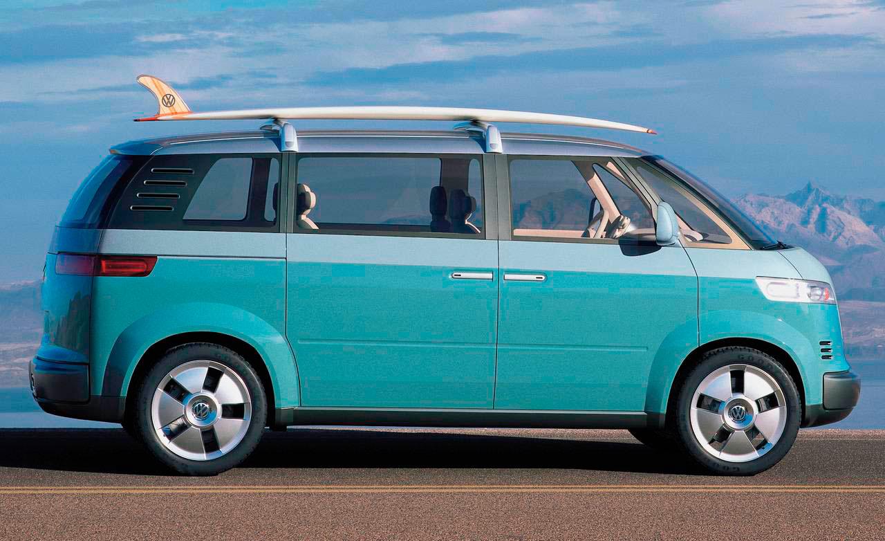 Электрический микроавтобус Volkswagen Camper