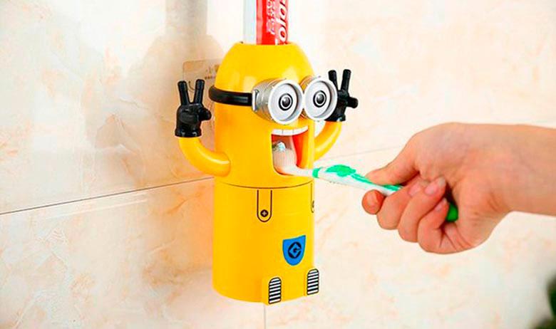 автоматические дозаторы зубной пасты
