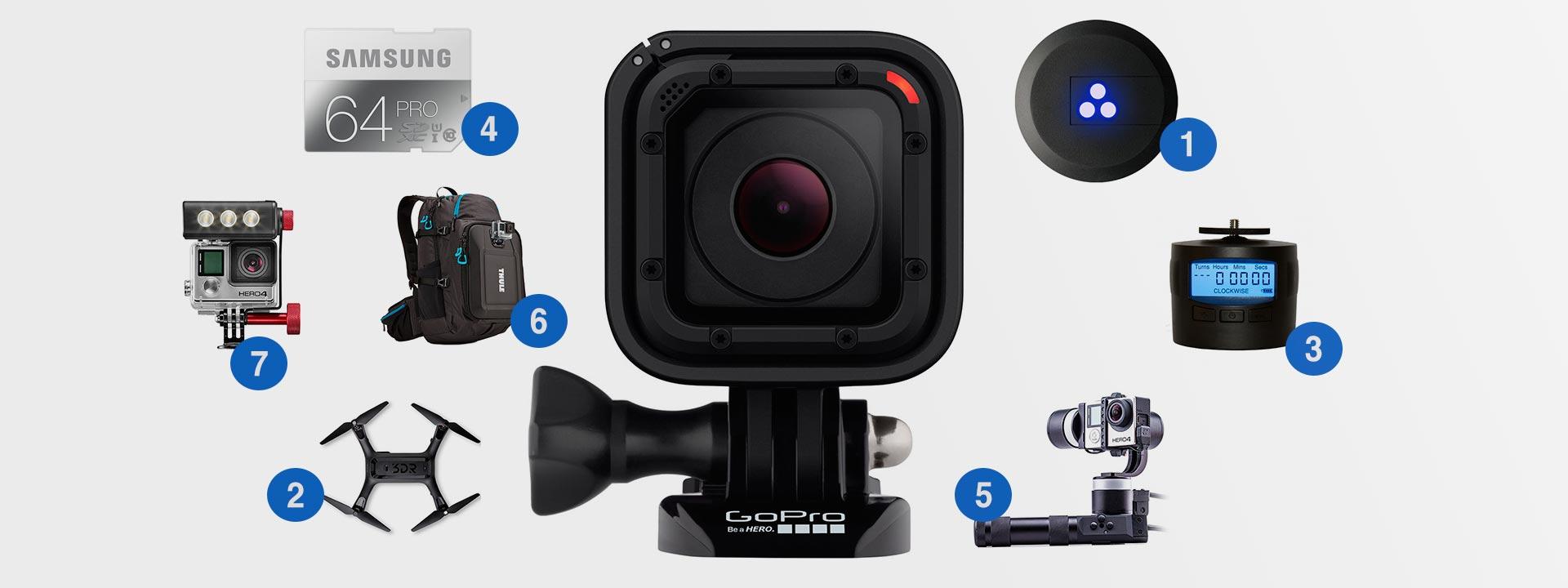 лучшие аксессуары 2015 года для GoPro