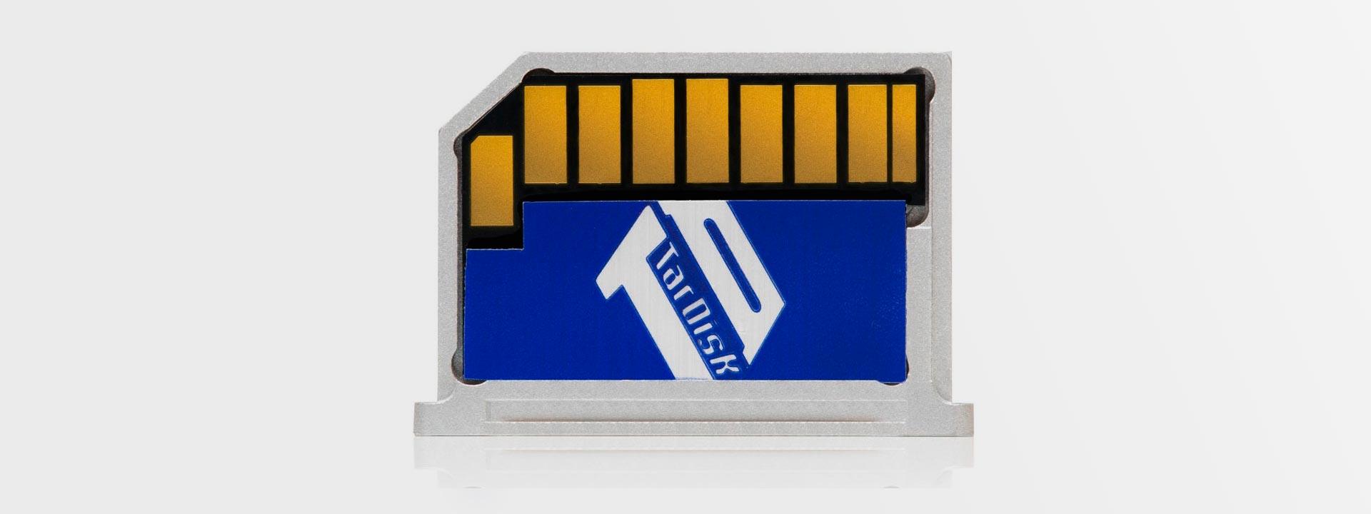 SD-карта TarDisk Pear вдвое увеличит память Macbook
