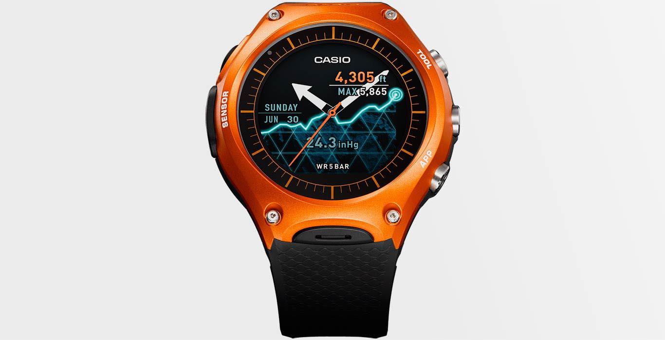 Смарт-часы Casio Outdoor