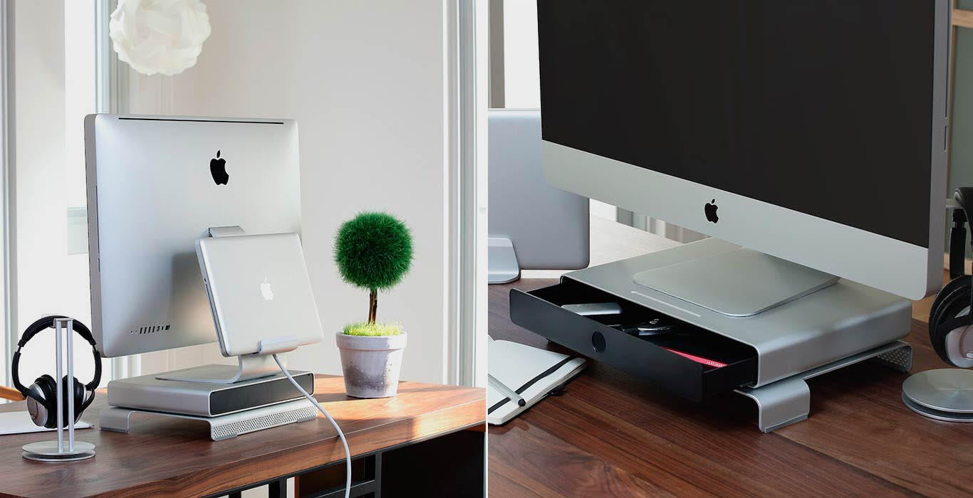 Шкафчик-подставка для монитора Just Mobile