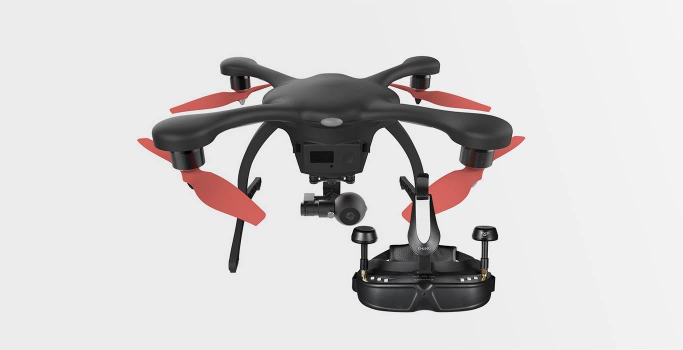 EHang Ghost Drone 2.0 Aerial
