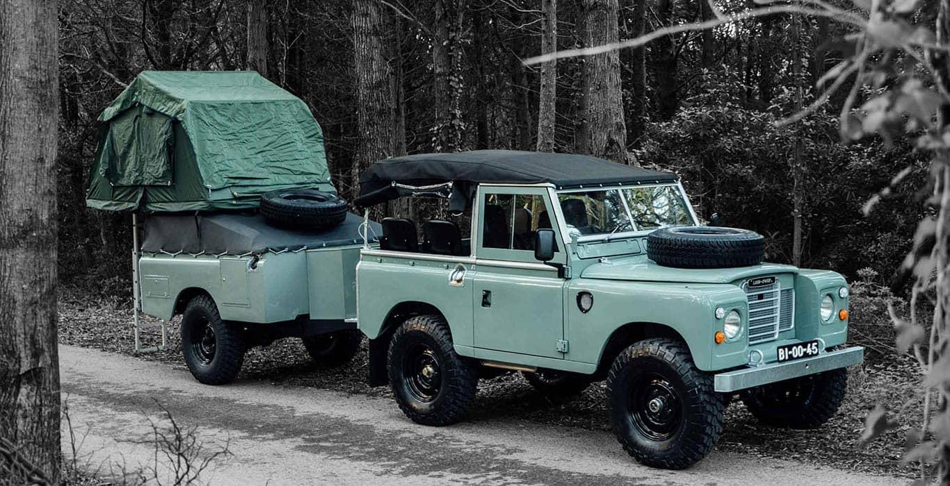 Land Rover Series 3 1982 года