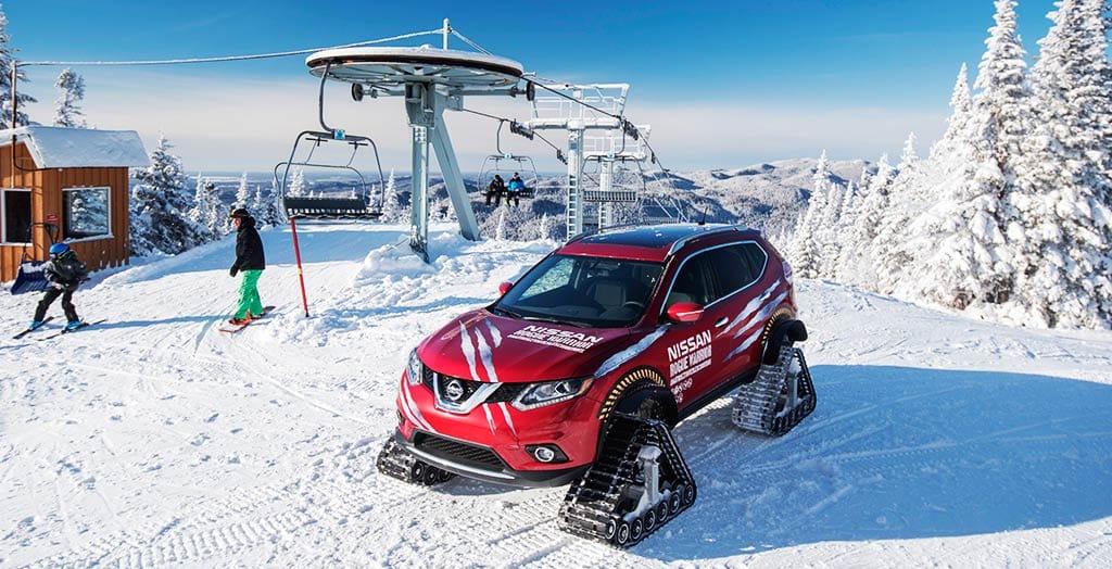 Nissan Rogue Warrior Snow Track