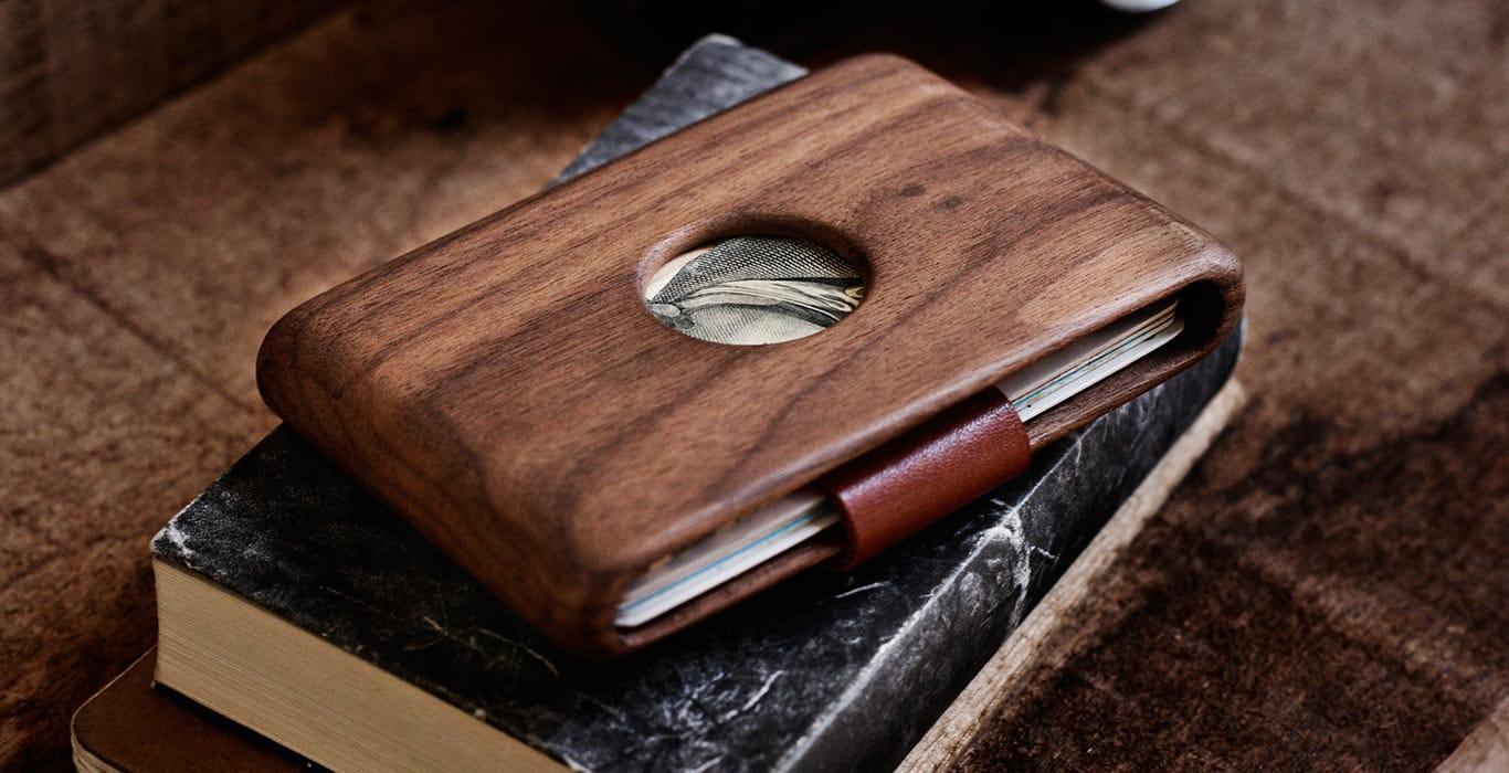 лучшие деревянные кошельки для мужчин