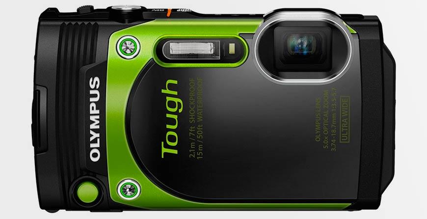 Водонепроницаемая цифровая камера Olympus Tough TG-870