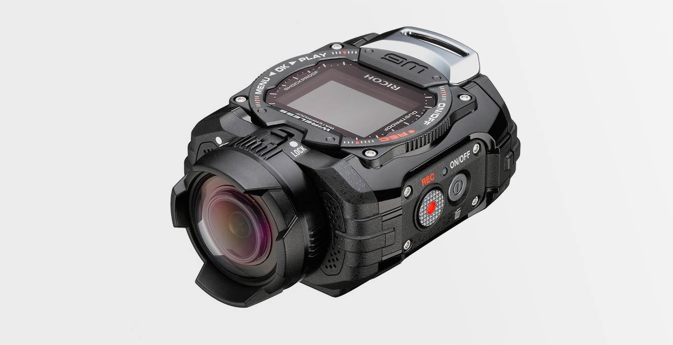 Водонепроницаемая экшн камера Ricoh WG-M1