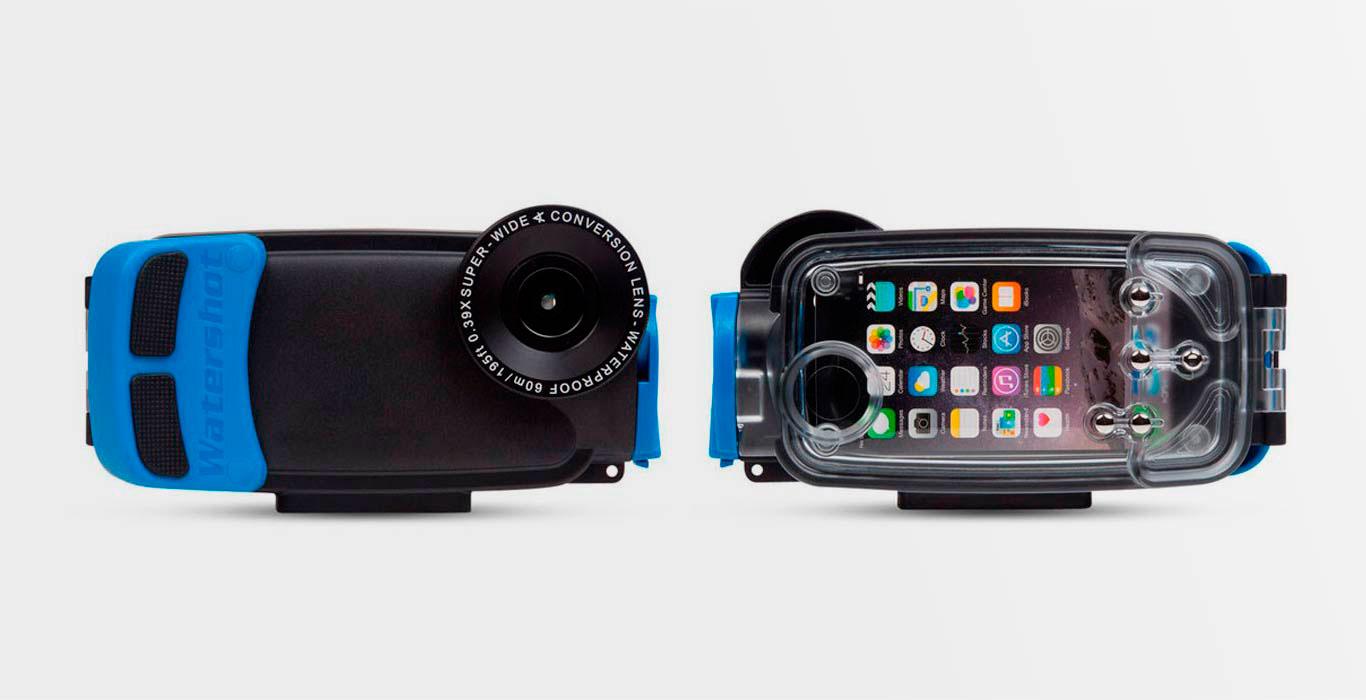 Водонепроницаемый чехол Watershot PRO для iPhone