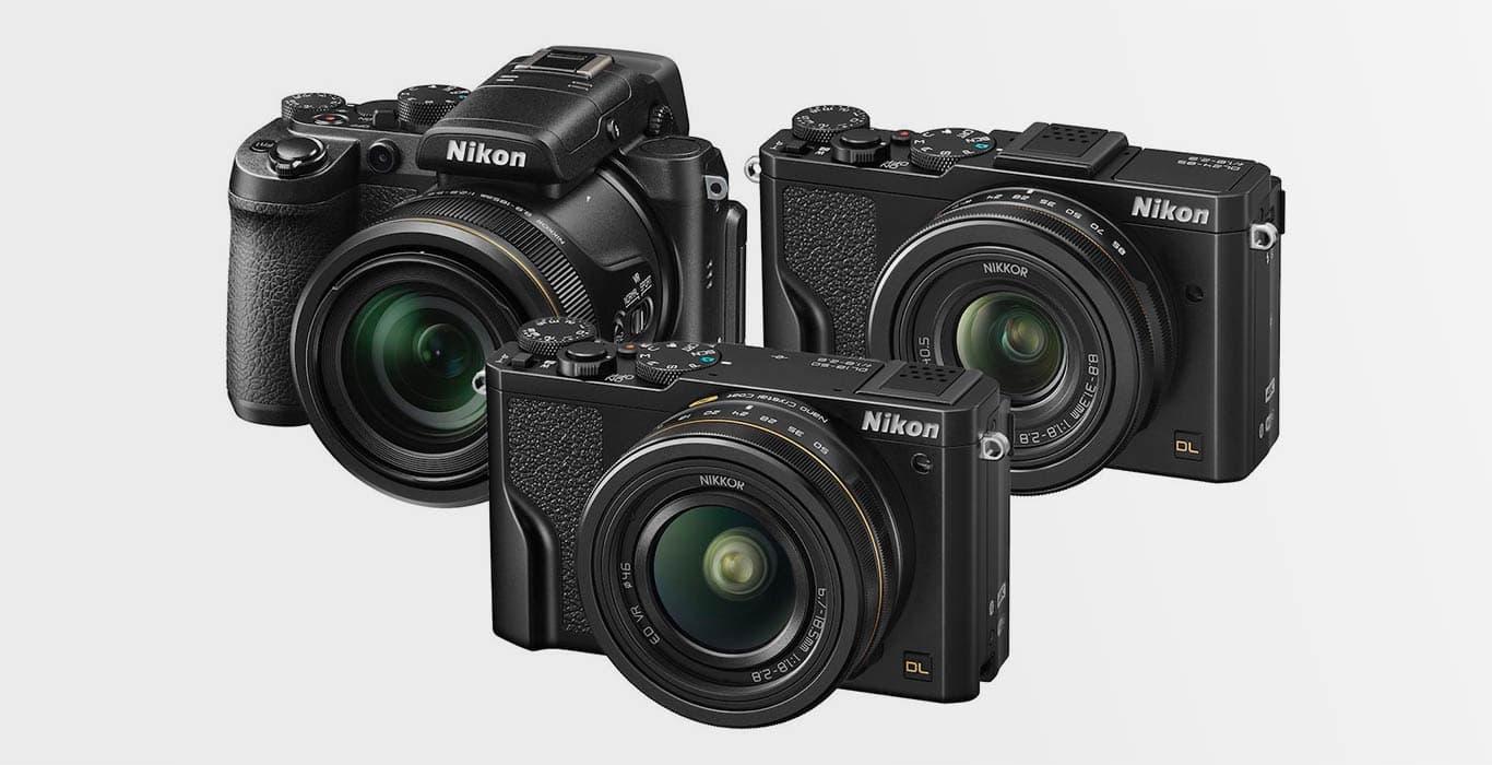 Компактные фотокамеры из серии Nikon DL