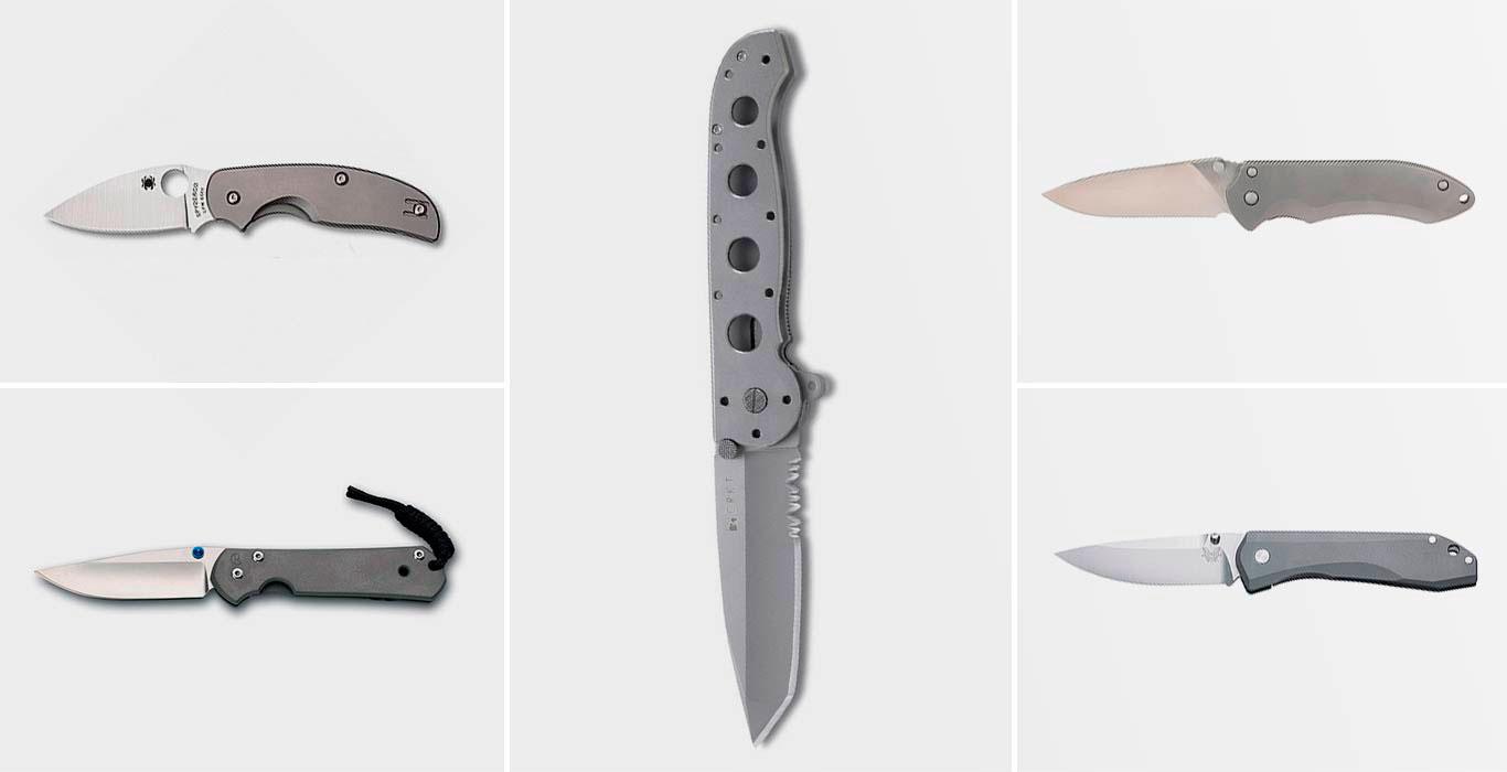лучшие титановые ножи на каждый день