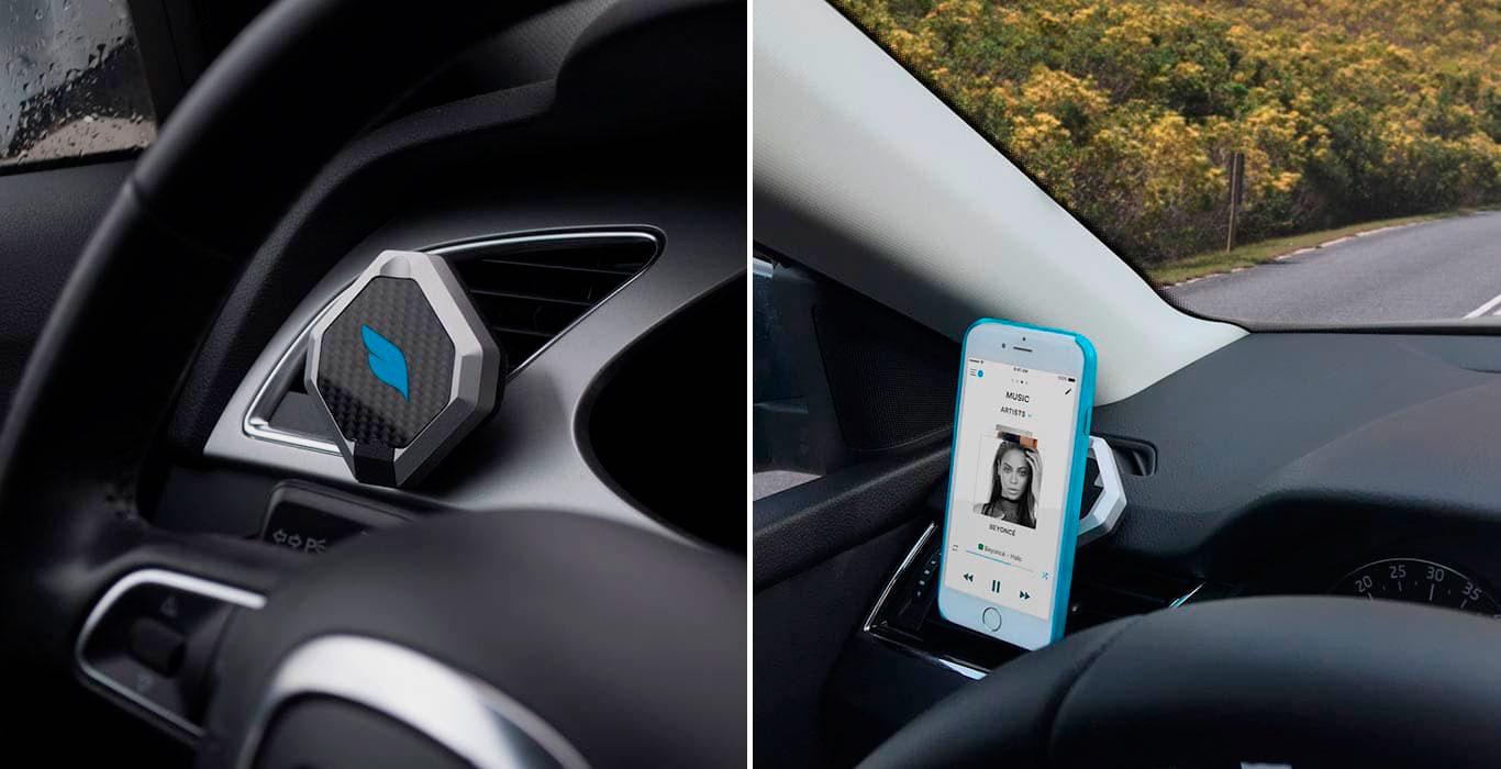 Bluejay – первый в мире умный автомобильный держатель для телефона