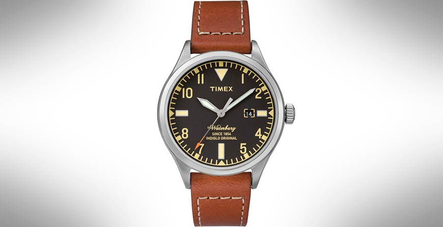 Часы Waterbury от Timex и Red Wing