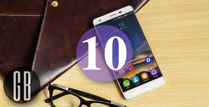Топ 10: лучшие продаваемые смартфоны на Gearbest