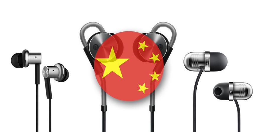 Топ 5: лучшие наушники-вкладыши из Китая