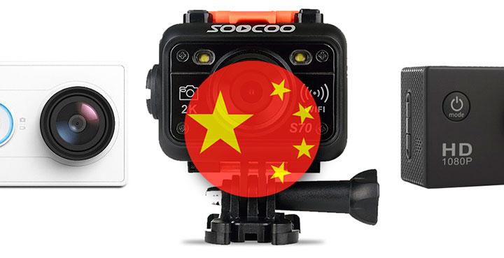 Топ 6: лучшие китайские экшн камеры. Экшн камеры из Китая