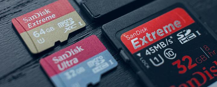 Лучшие карты памяти microSD 2017 года