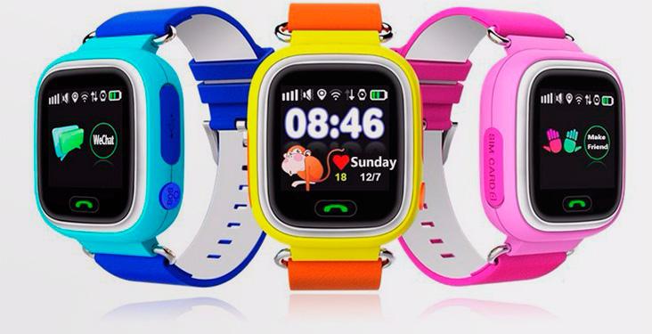 Наручные GPS-часы для ребенка