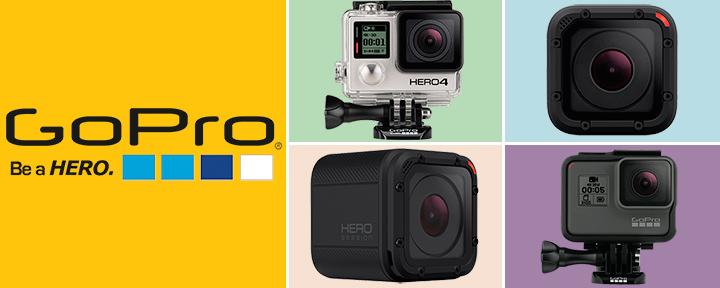 Лучшие экшн камеры GoPro 2017 года