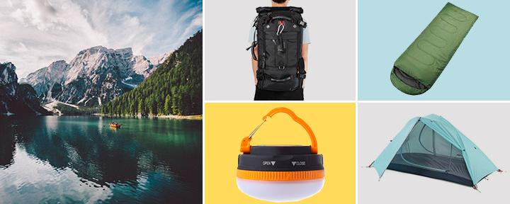 Полезные товары для кемпинга и походов с GearBest со скидкой