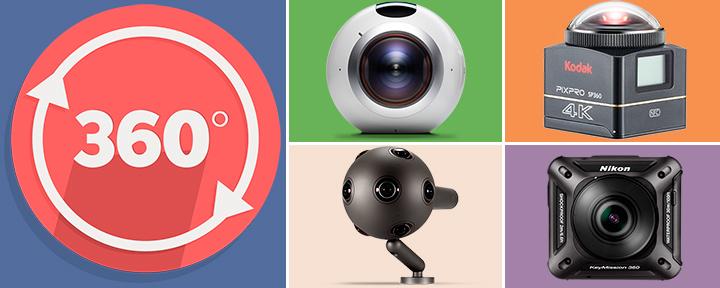 Топ 5: лучшие камеры на 360 градусов 2017 года